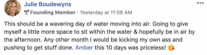 Amber Annette Testimonial - Intuitive Business Coach